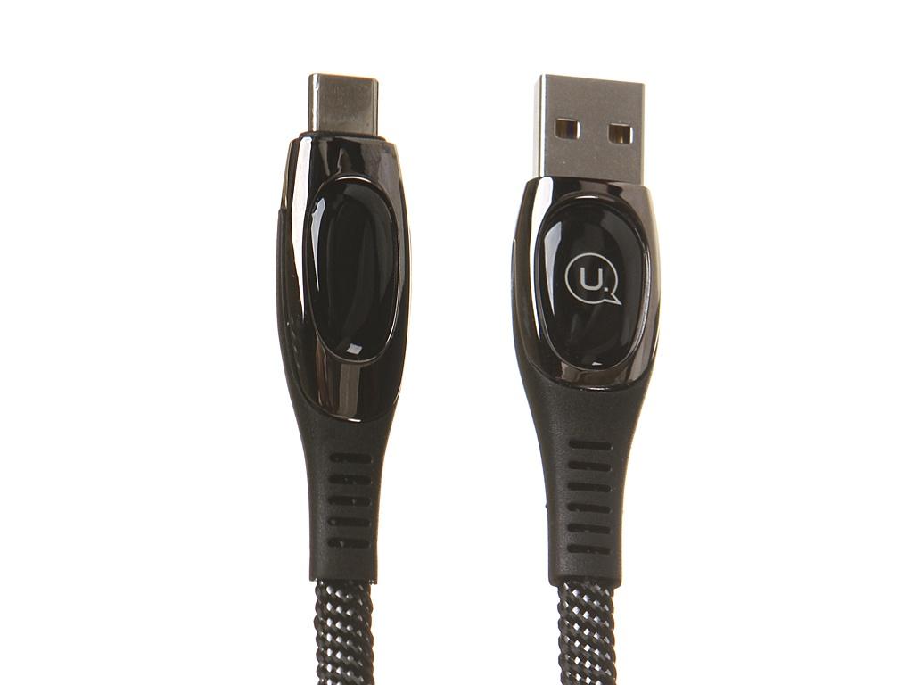 Фото - Аксессуар Usams U36 USB - Type-C Black УТ000020218 аксессуар