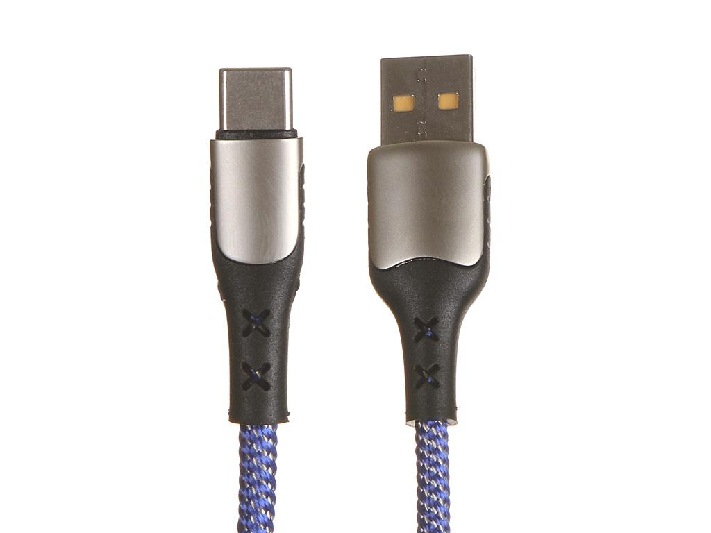 Фото - Аксессуар Usams U27 USB - Type-C 5А Blue УТ000020268 аксессуар