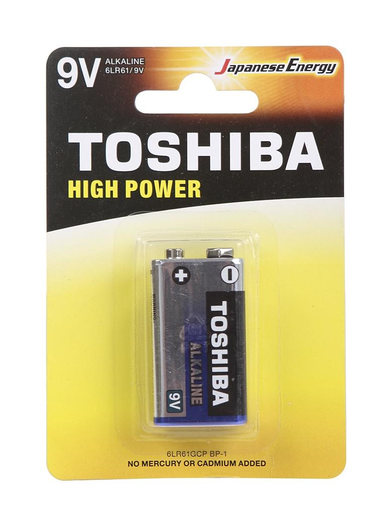 Батарейка Toshiba 6LR61GCP BP-1 (1шт)