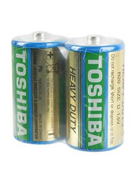 Батарейка D - Toshiba R20 KG-SL(B) SP2TC (2шт)