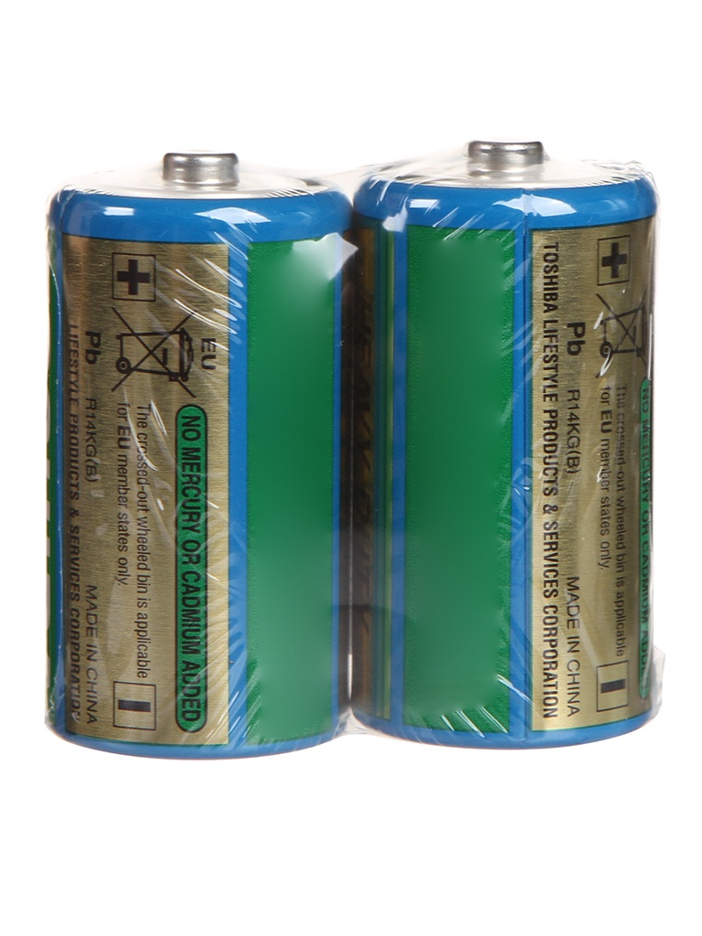 Батарейка C - Toshiba R14KG(B) SP-2TGC (2шт)