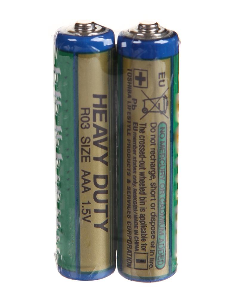 Батарейка AAA - Toshiba R03KG(B) SP-2TGC (2шт)