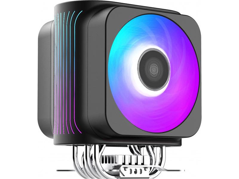 Кулер PCcooler GI-D66A Halo FRGB (LGA2066/2011/1366/115x/775/AM4/3/3+/2/2+/FM1/2/2+)