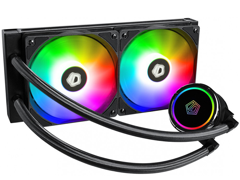 Водяное охлаждение ID-Cooling ZoomFlow 240X ARGB (LGA20XX/LGA1366/LGA115X/TR4/AM4/AM3/+/AM2/+/FM2/+/FM1)