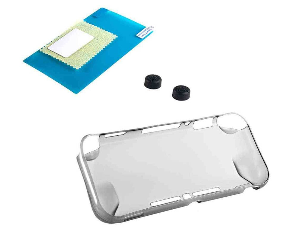 Набор Oivo N-Switch Lite 3 in 1 Crystal Cover Kit Clear Black IV-SW666