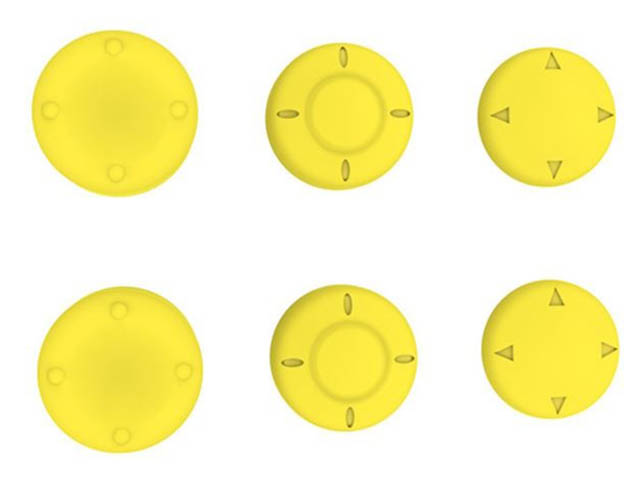 Набор насадок Dobe N-Switch Thumbstick Cover TNS-877C Yellow
