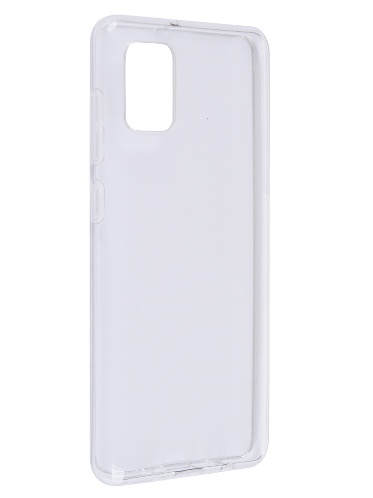 Чехол Brosco для Samsung Galaxy A31 TPU Transparent SS-A31-TPU-TRANSPARENT