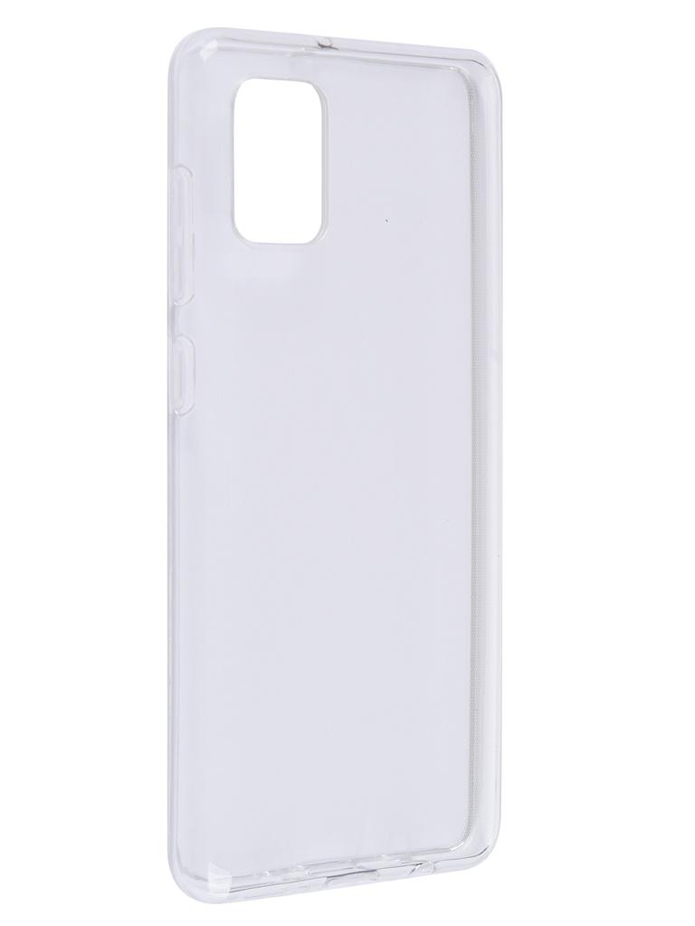 Чехол Brosco для Samsung Galaxy A31 TPU Transparent SS-A31-TPU-TRANSPARENT