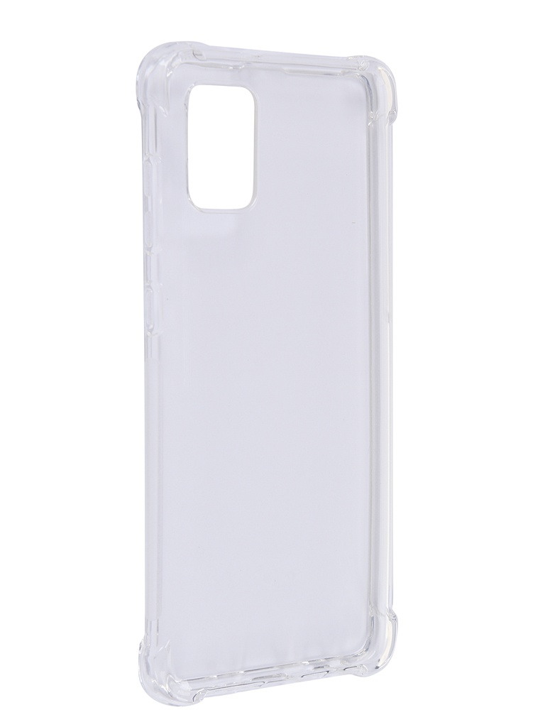 Чехол Brosco для Samsung Galaxy A31 TPU Transparent SS-A31-HARD-TPU-TRANSPARENT
