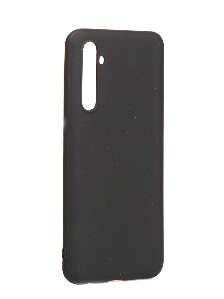 Чехол Brosco для Realme XT Matte Black RM-XT-COLOURFUL-BLACK