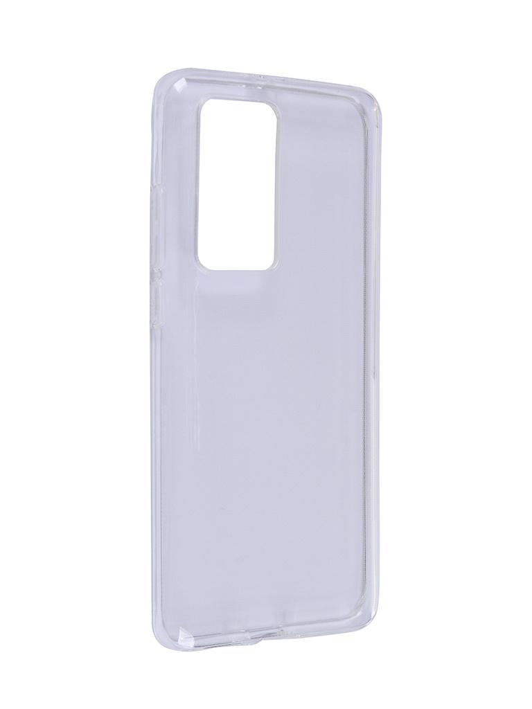 Чехол Brosco для Huawei P40 Pro TPU Transparent HW-P40P-TPU-TRANSPARENT