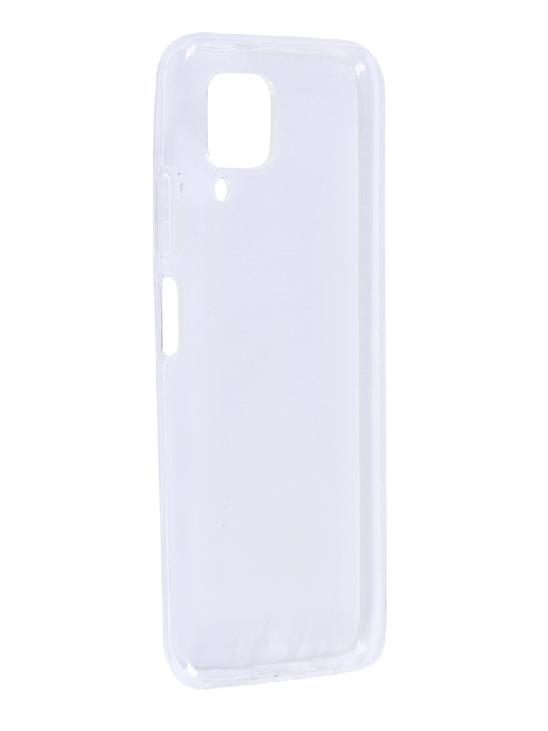 Чехол Brosco для Huawei P40 Lite TPU Transparent HW-P40L-TPU-TRANSPARENT