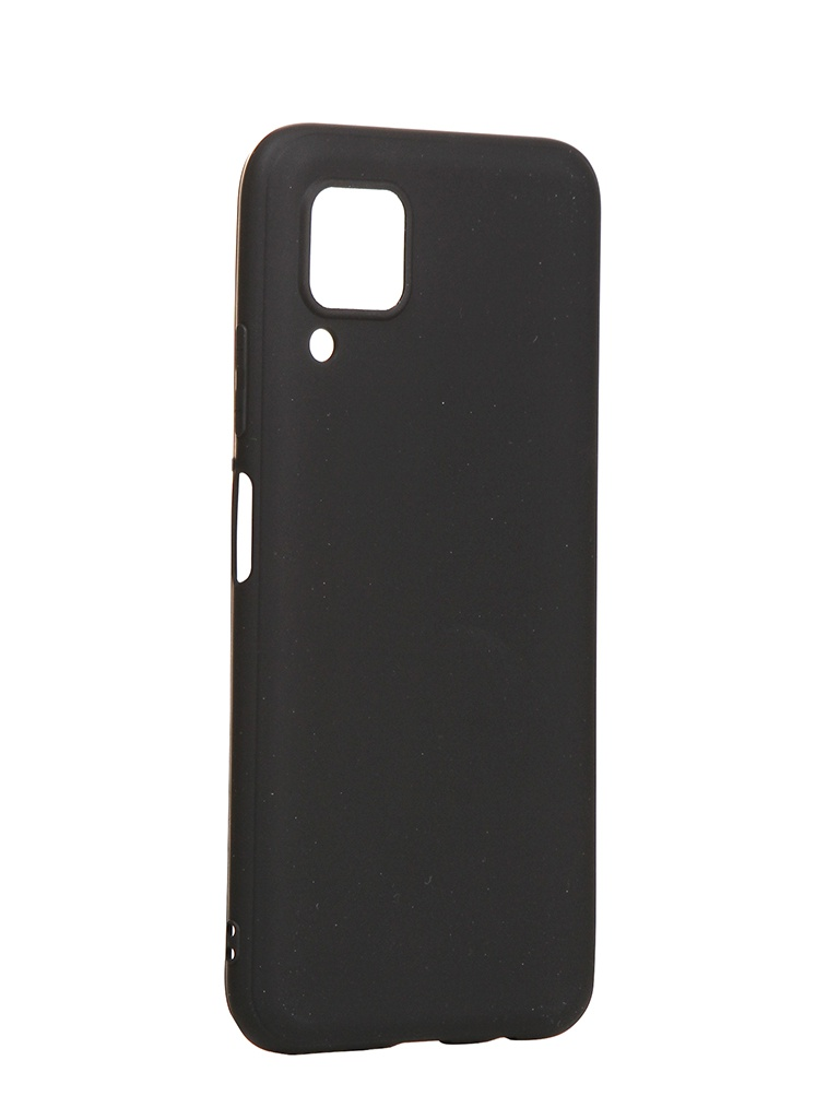 Чехол Brosco для Huawei P40 Lite TPU Matte Black HW-P40L-COLOURFUL-BLACK
