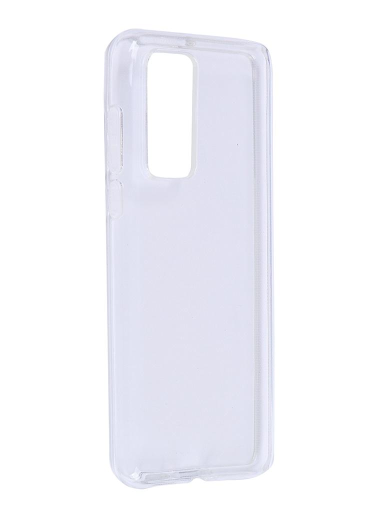 Чехол Brosco для Huawei P40 TPU Transparent HW-P40-TPU-TRANSPARENT