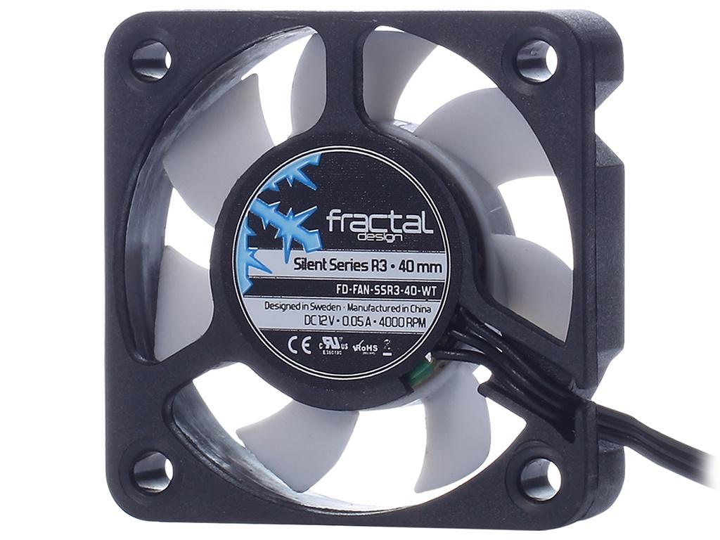 Вентилятор Fractal Design Silent Series R3 40mm FD-FAN-SSR3-40-WT