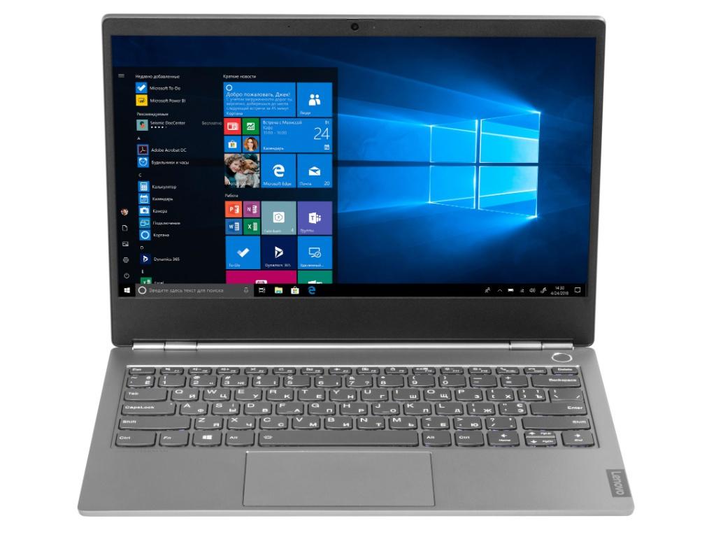 Ноутбук Lenovo ThinkBook 13s-IML Mineral Grey 20RR0006RU (Intel Core i5-10210U 1.6 GHz/16384Mb/512Gb SSD/Intel HD Graphics/Wi-Fi/Bluetooth/Cam/13.3/1920x1080/Windows 10 Pro 64-bit) моноблок lenovo v530 24icb black 10uw00m5ru intel core i7 9700t 2 0 ghz 16384mb 512gb ssd dvd rw intel hd graphics wi fi bluetooth cam 23 8 1920x1080 windows 10 pro 64 bit