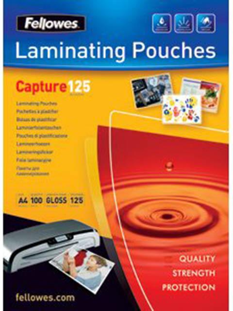 Пленка для ламинирования Fellowes A4 216x303mm 125мкм 100шт глянцевая CRC-53074/571358
