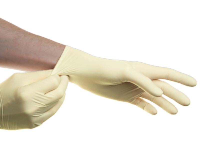 Перчатки латексные SFM неопудренные, нестерильные 5 перчатки sfm смотровые нестерильные латексные р m 50 пар