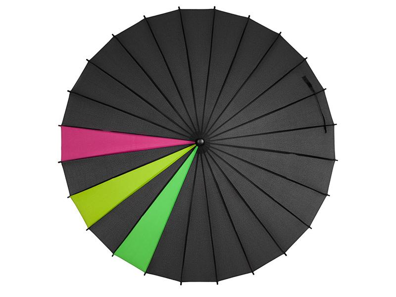 Зонт Molti Спектр Black Neon 5380.31