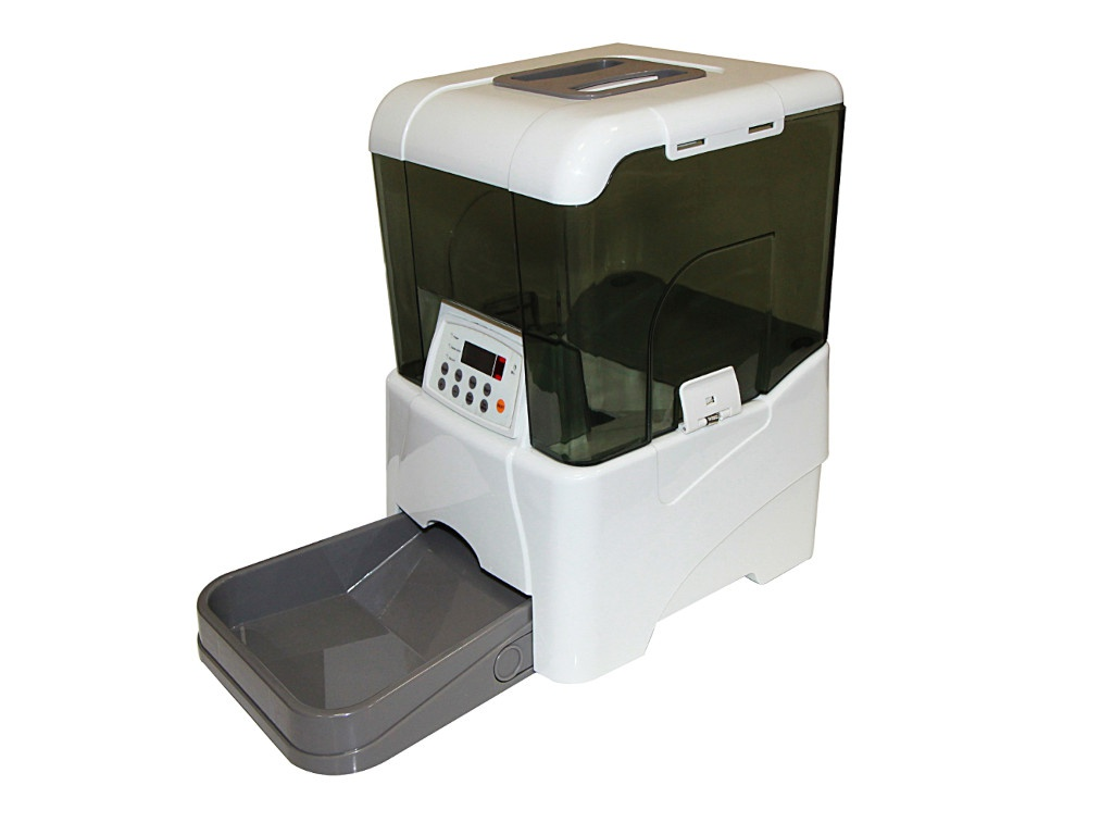 Автоматическая кормушка Petwant PF-21B White автоматическая кормушка jbl autofood white jbl6061600