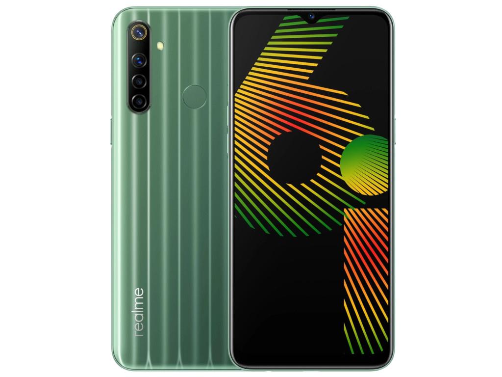 Сотовый телефон Realme 6i 4/128Gb LTE Green сотовый телефон realme 6 8 128gb lte blue