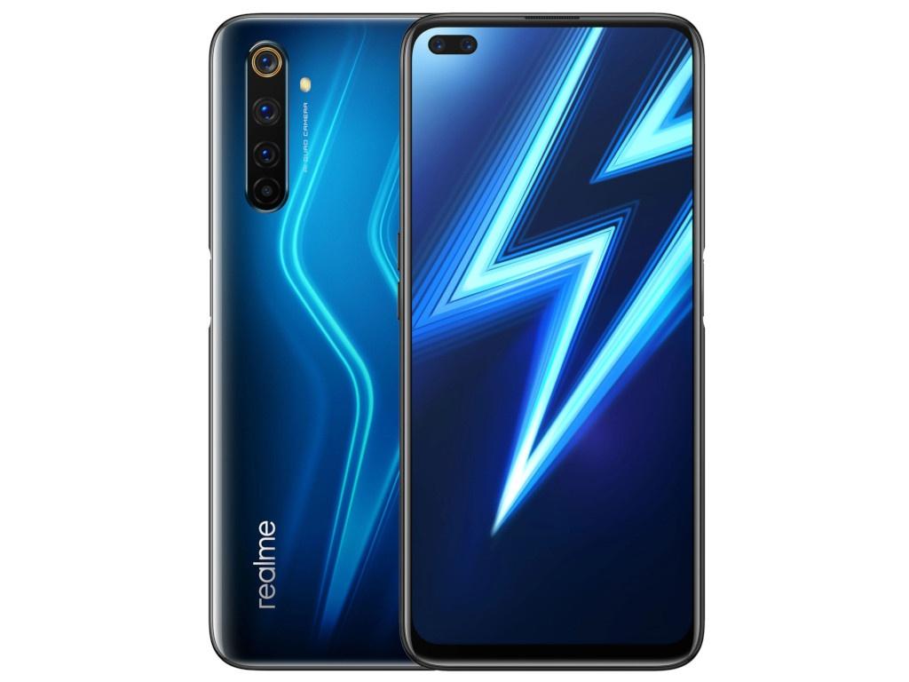 Сотовый телефон realme 6 Pro 8/128GB LTE Blue сотовый телефон realme 6 8 128gb lte blue