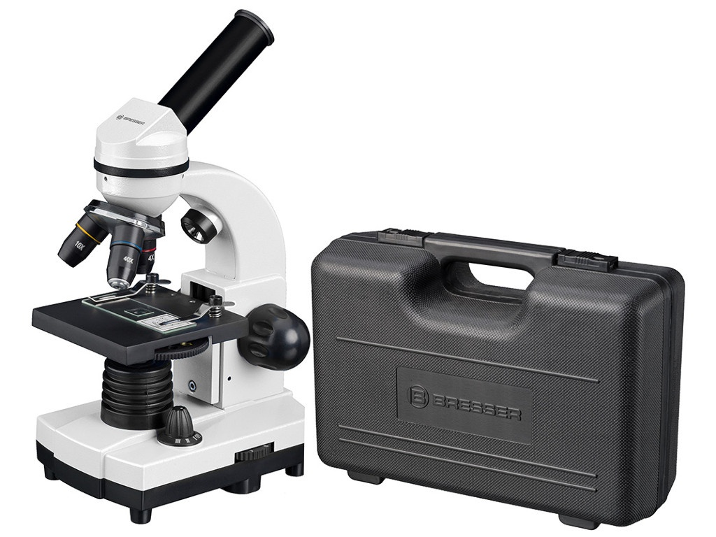 Микроскоп Bresser Junior Biolux SEL 40-1600x White 75314