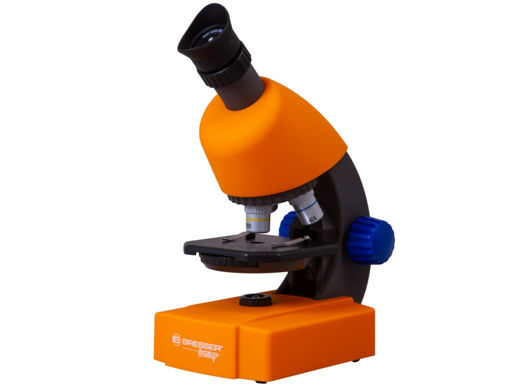 Фото - Микроскоп Bresser Junior 40-640x Orange 74327 микроскоп bresser junior biolux sel 40–1600x красный