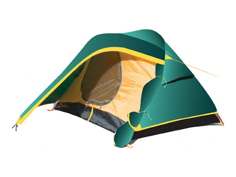 Палатка Tramp TRT-34 Colibri 2 V2 Green палатка greenell виржиния 4 v2 green 25533 303 00