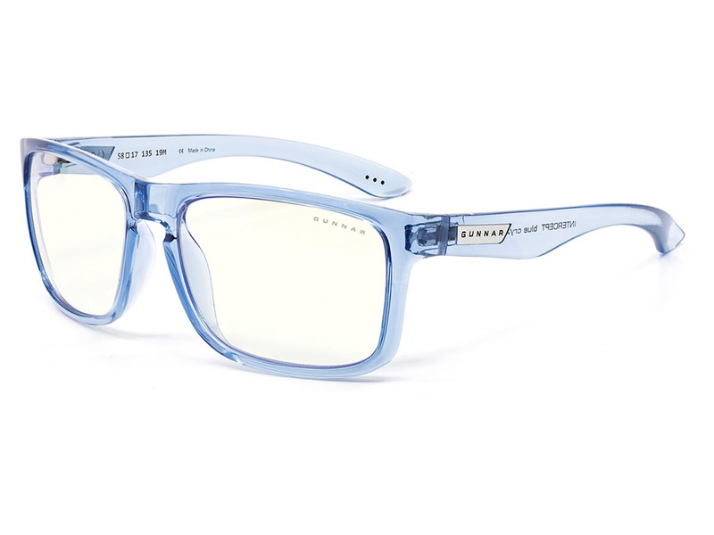 цена Очки компьютерные Gunnar Intercept Clear Blue Crystal INT-01809 онлайн в 2017 году
