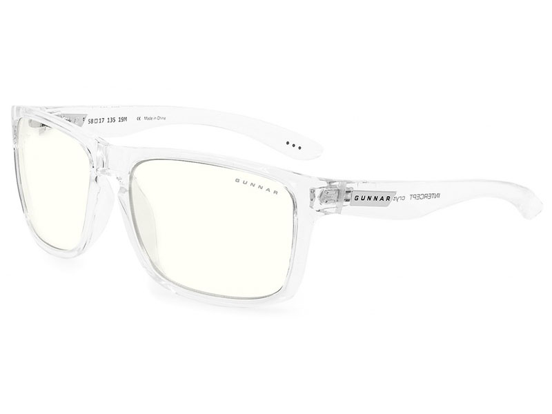 цена Очки компьютерные Gunnar Intercept Clear Crystal INT-07609 онлайн в 2017 году