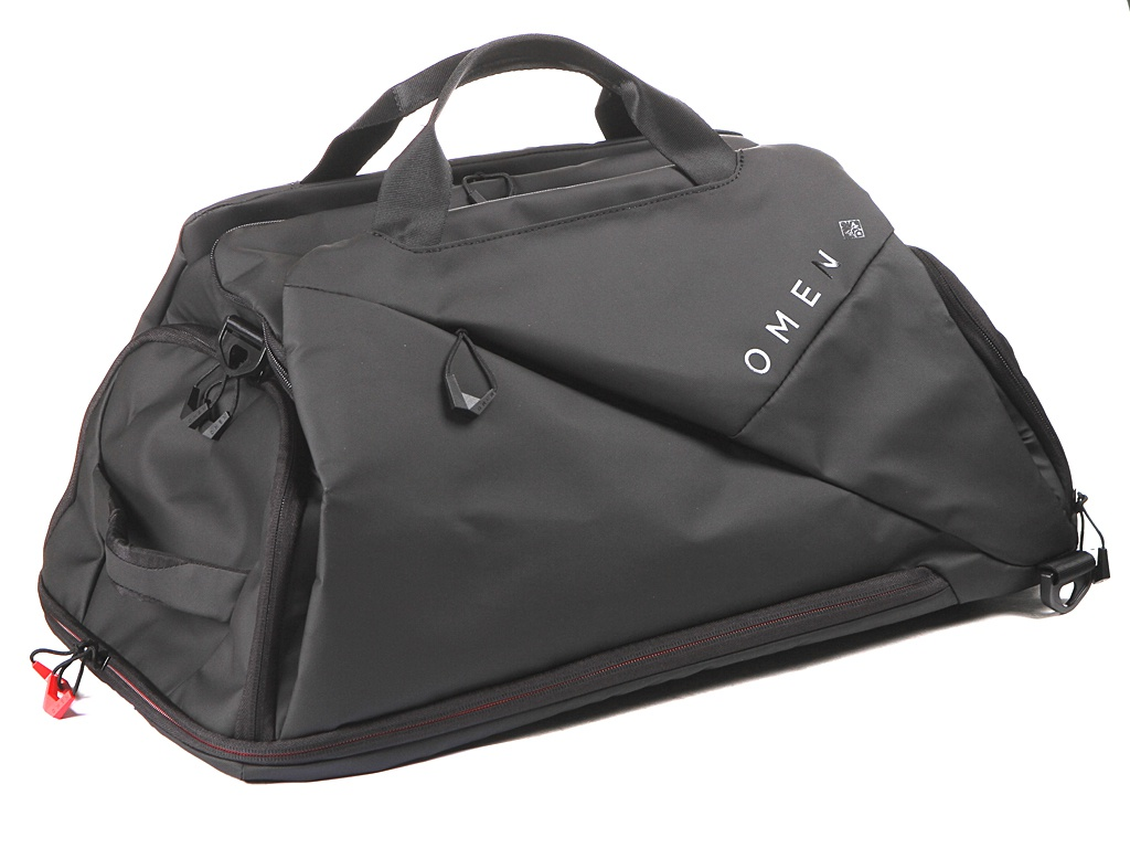 цена на Сумка 17.0-inch HP Omen Transceptor Duffel Bag Black 7MT82AA
