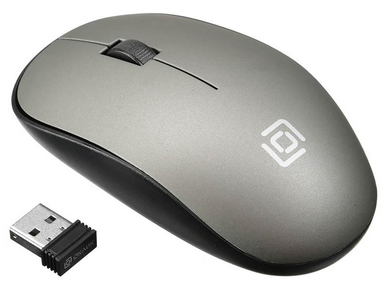 Мышь Oklick 515MW Black-Grey 1018267