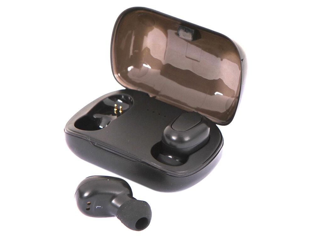 Наушники Olmio TWE-04 True Wireless Black 40272