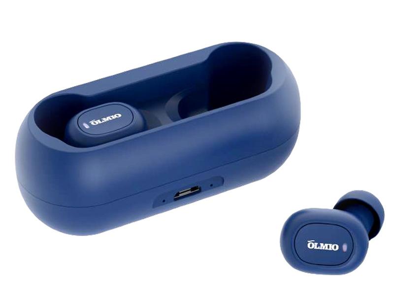 Наушники OLMIO TWE-02 Blue