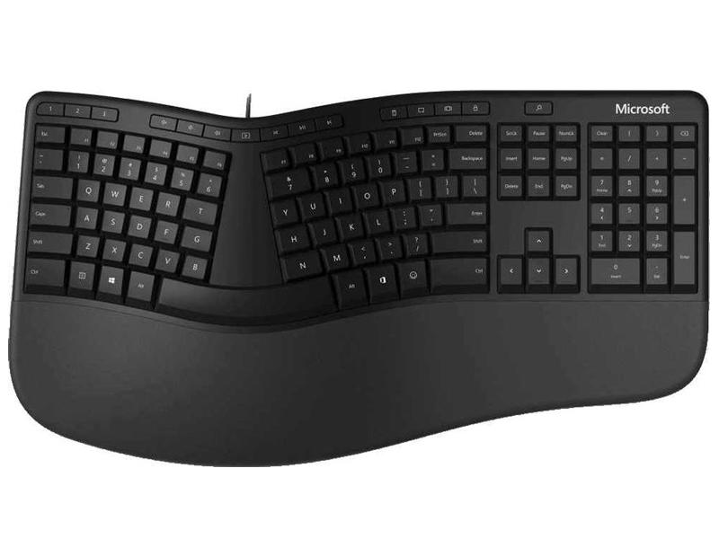 Клавиатура Microsoft Keyboard Ergonomic LXM-00011