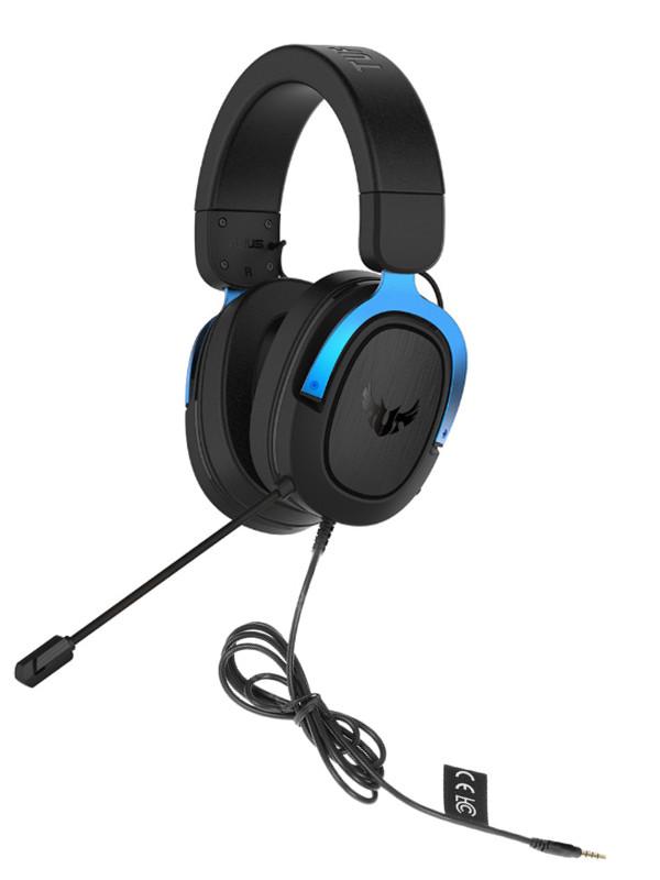 Наушники ASUS TUF Gaming H3 Blue 90YH029B-B1UA00