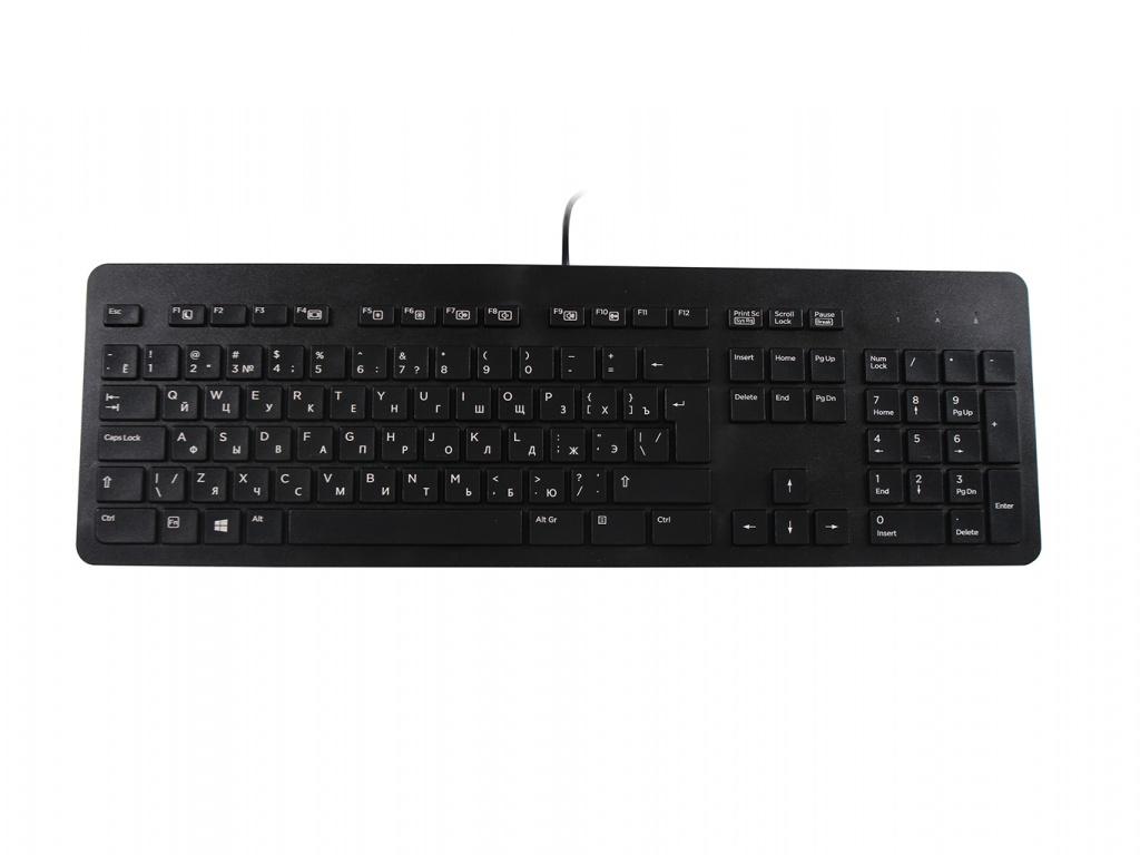 Клавиатура HP USB Business Slim Keyboard N3R87AA