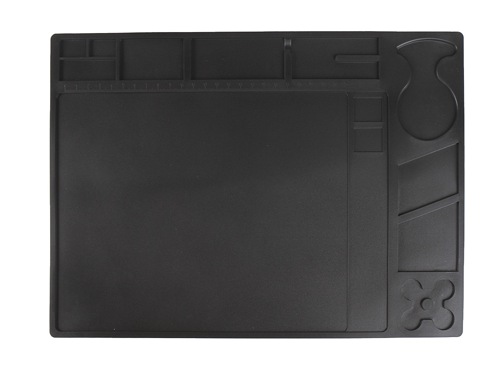 Антистатический силиконовый коврик Yihua 360x260mm 230С