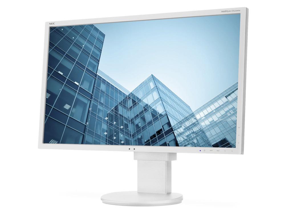 Монитор NEC MultiSync EA224WMi 21.5 White монитор nec multisync e241n white