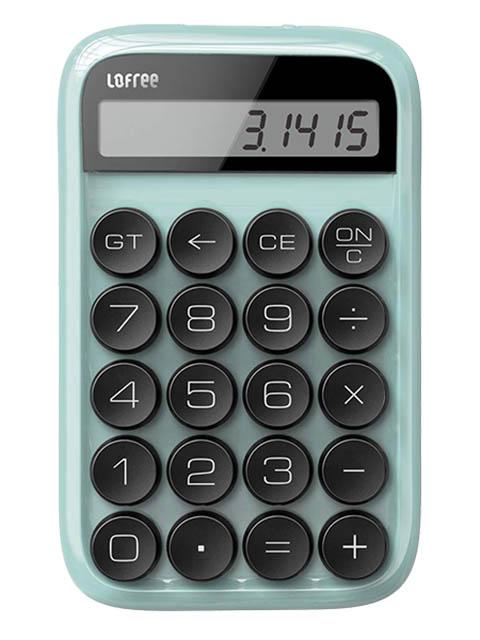 Калькулятор Lofree Digit Turquoise