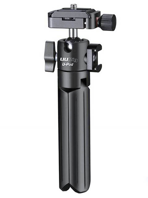 Мини-штатив Ulanzi U-Pod UURig Vlog Tripod 20253 мини штатив activ tripod mini 01 black 107161
