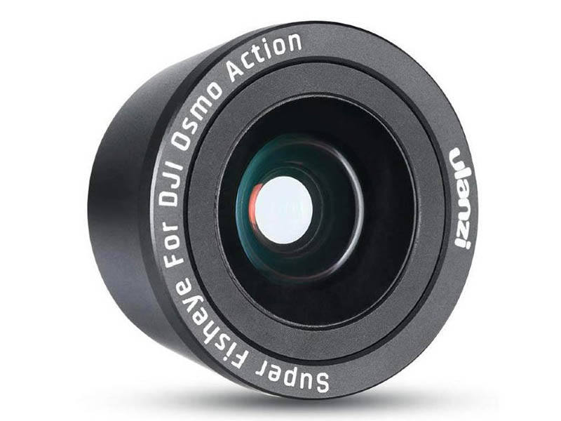 Фото - Объектив Ulanzi OA-6 FishEyes Lens для Osmo Action 17962 ленточки самоклеящиеся action fancy 12 мм 6 штук
