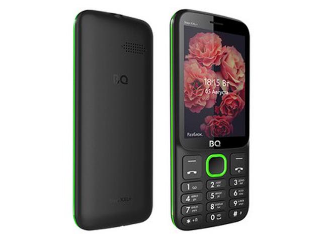 Сотовый телефон BQ 3590 Step XXL+ Black-Green