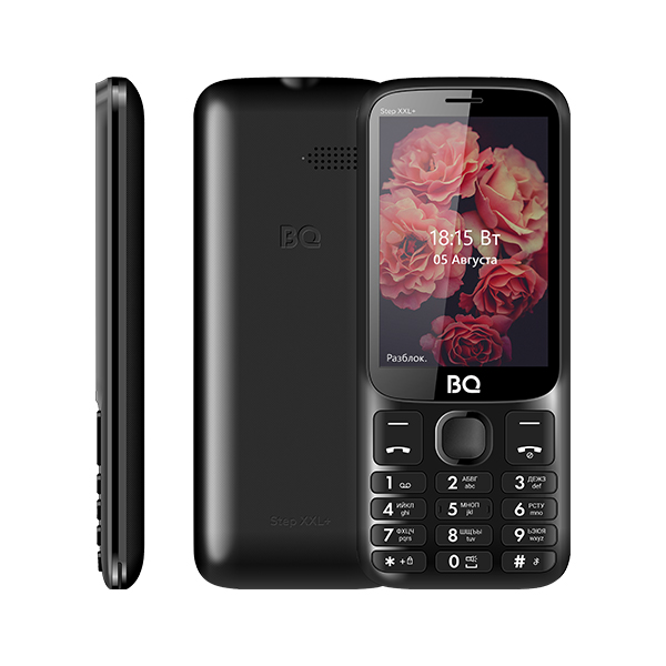 Сотовый телефон BQ 3590 Step XXL+ Black