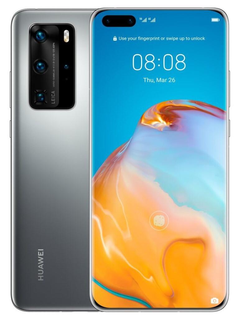 Сотовый телефон Huawei P40 Pro 8/256Gb Silver Frost Выгодный набор для Selfie + серт. 200Р!!!