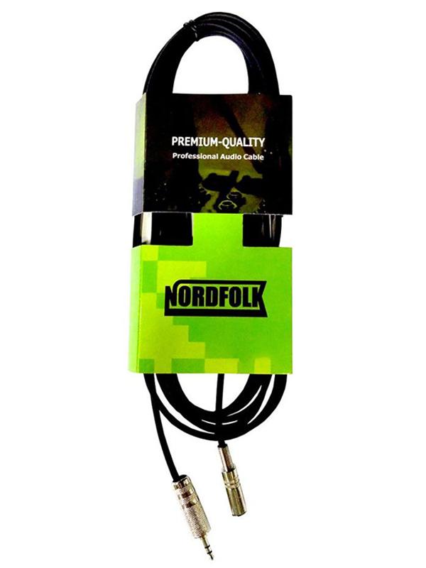 Фото - Аксессуар NordFolk 3.5mm Mini Jack Stereo/F - 3.5mm Mini Jack/M 3m NMC270/3M аксессуар