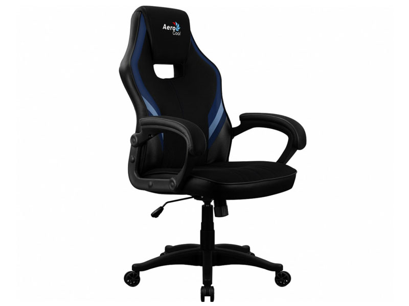 Компьютерное кресло AeroCool AERO 2 Alpha Black- Blue Выгодный набор + серт. 200Р!!!