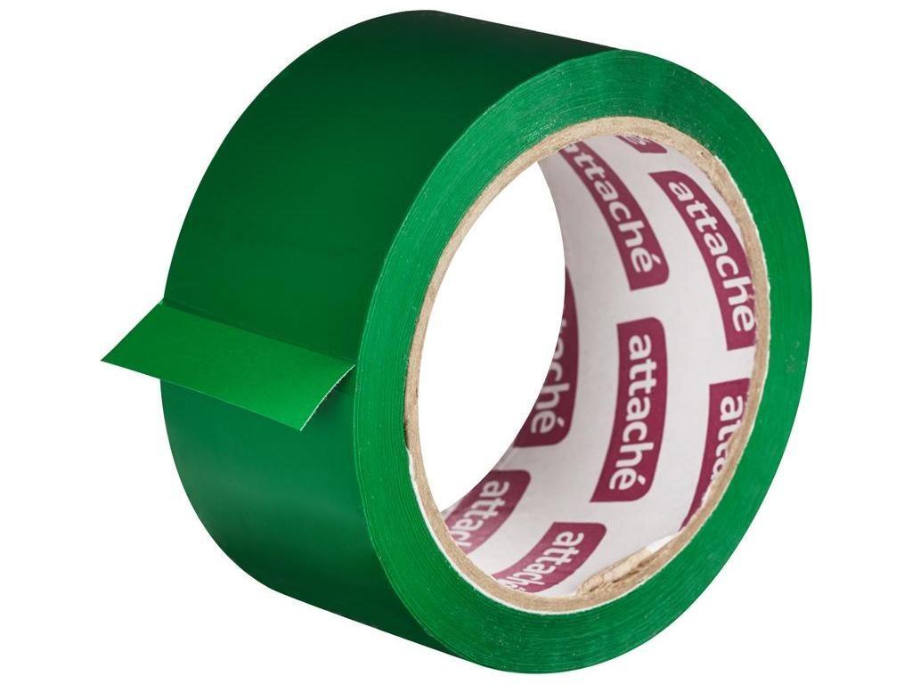 Клейкая лента Attache 48mm x 66m Green 146161