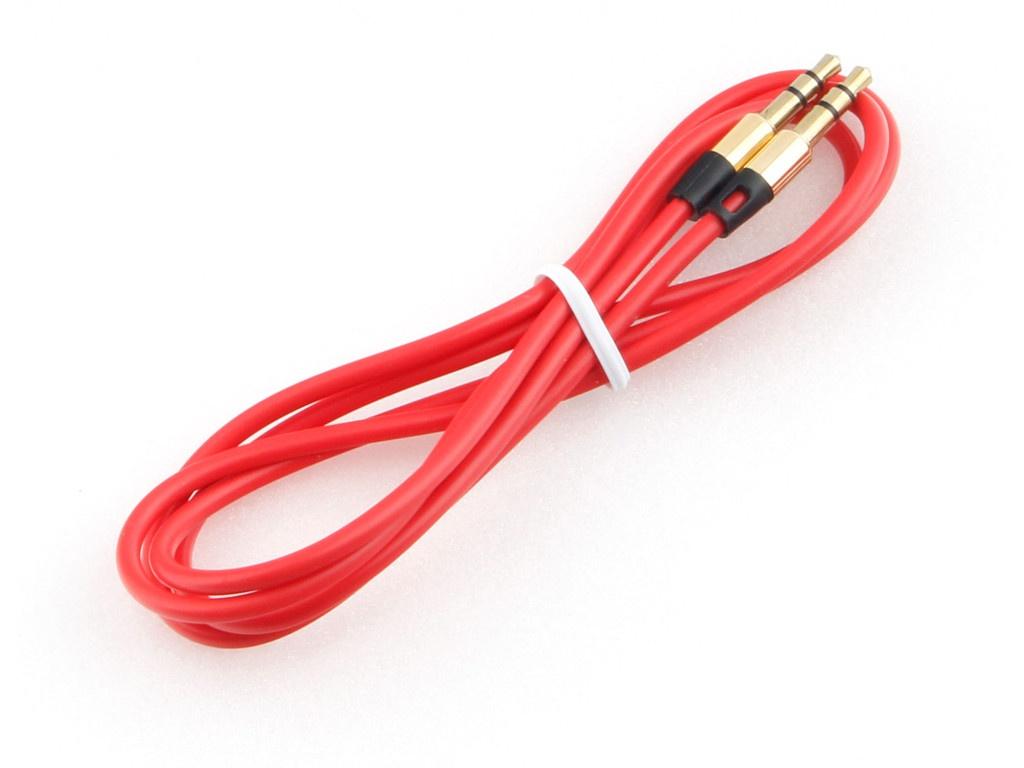 Аксессуар Gembird 3.5 Jack 1m Red CCAB-01-35MM-1MR аксессуар